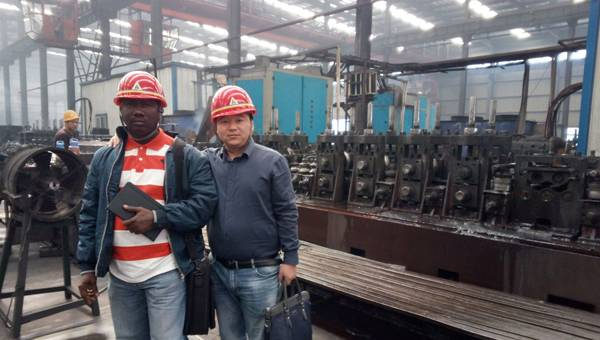 Warmly Welcome Sierra Leone Merchants Visited Shandong China Coal Group Joint Manufacturing Company to Purchase Equipment