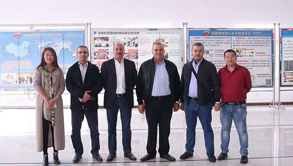 Warmly Welcome Algerian Merchants to Visit China Coal Group to Purchase Equipment