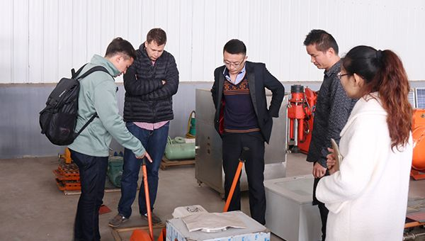 Warmly Welcome Bolivia Merchants to Visit Shandong China Coal Group for Purchasing Railway Equipment