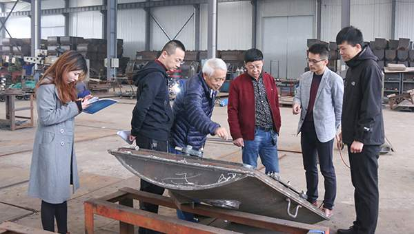 Warmly Welcome Jincheng Anthracite Coal Mining Group Merchants to Visit Shandong China Coal Group for Purchasing Equipment