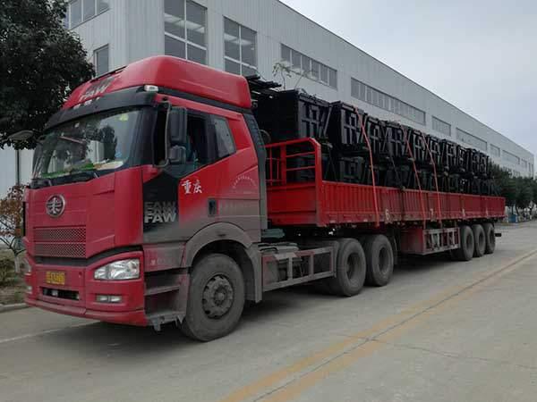 A Batch of Side Dump Mine Cars of Shandong China Coal Group Sent to Shangrao City, Jiangxi Province