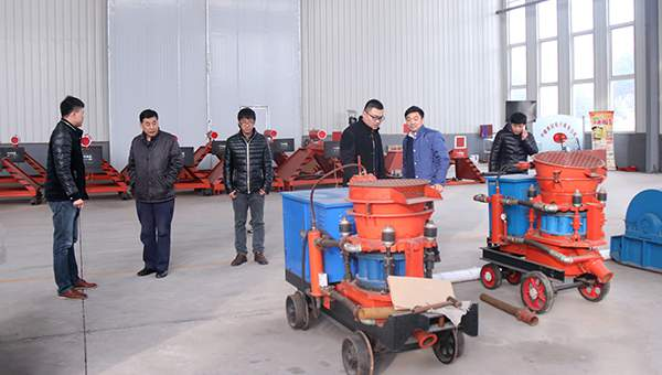 Warmly Welcome Henan Businessmen Come to Shandong China Coal Group for Purchasing