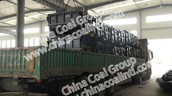 A Batch of Side Dumpping Mine Cars of China Coal Group Sent to Shangrao City, Jiangxi Province
