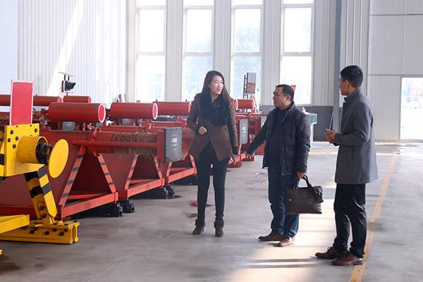 Welcome Customers From Jiangxi Province to Visit China Coal Group For Purchasement