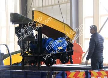 Scraper Rock Loader of China Coal Group Sent to Yunnan