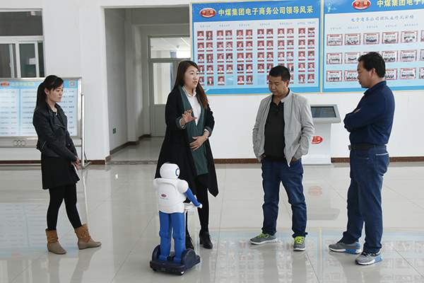 Warmly Welcome Jiuquan Merchants to Visit China Coal Group for the Procurement of Intelligent Robot