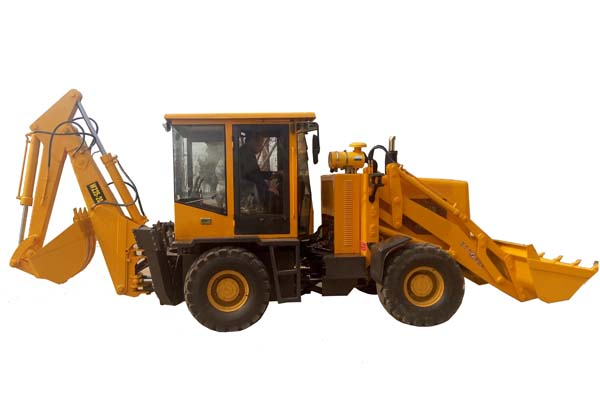 How to do Safety Precautions Before Backhoe Loader Engine Starts?