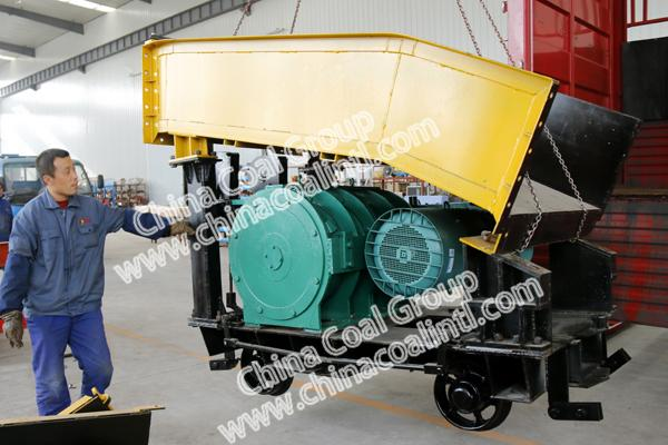 A Batch of Scraper Loader of China Coal Group Sent to Qinyuan county, Shanxi Province