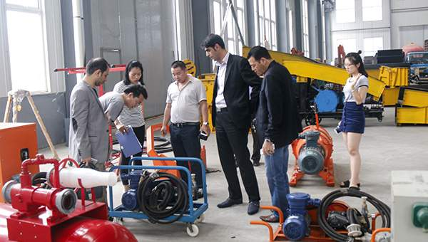 Warmly Welcome Merchants Visited China Coal Group to Purchase Industrial&Mining Equipment