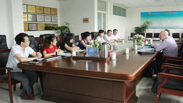 Warmly Welcome Russian Merchants Visited Shandong China Coal Group for Purchasing Equipment