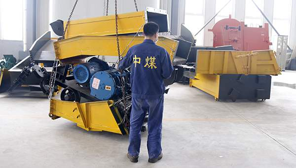 A Batch of Large Mining Equipment Scraper Loaders of China Coal Group Sent to Jilin Province