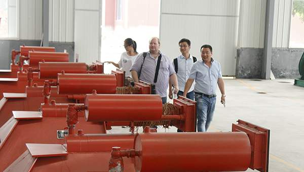 Warmly Welcome Finland Merchants Visited China Coal Group to Purchase Railway Equipment