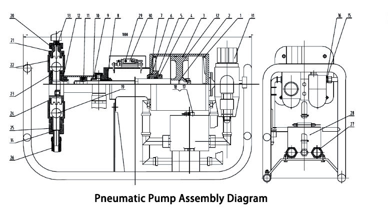 Pneumatic Injection Pump