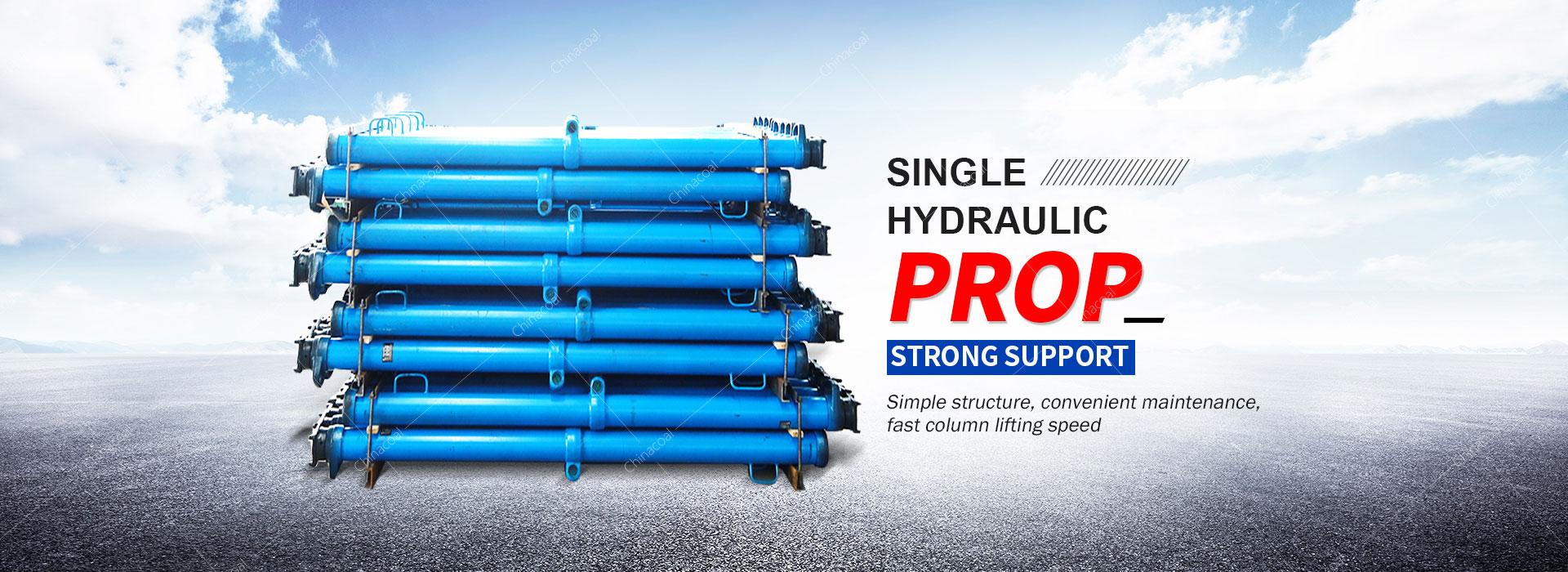 Single hydraulic prop