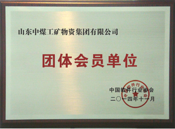 China Coal Group National Certificate
