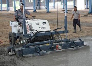 Concrete Floor Laser Leveling Screed Machine