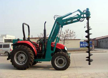 Electric Poles Digging Machine