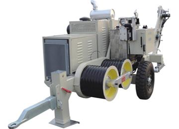 90KN Overhead Transmission 9T Hydraulic Puller Machine