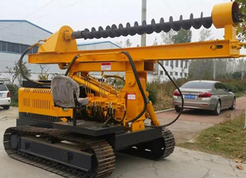 Crawler Rotary Pile Drilling Rig
