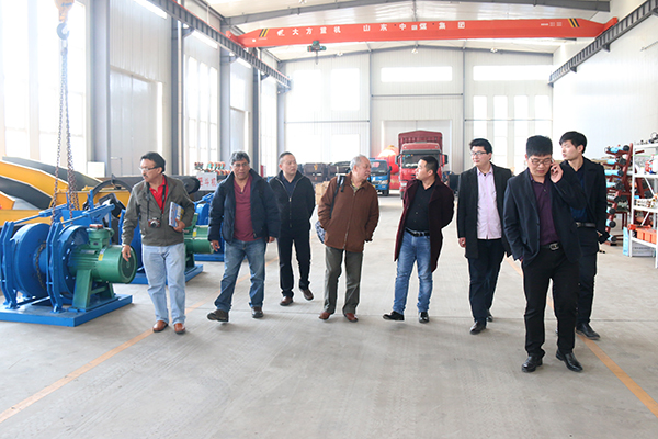 Warmly Welcome Peru Merchants to Visit China Coal Group for Mining Products Procurement