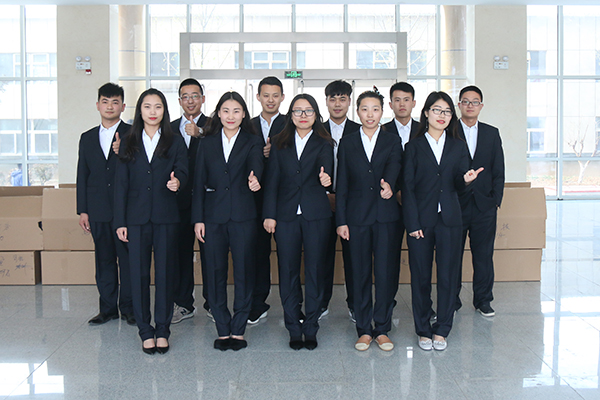 New Business Suit New Image - Shandong China Coal Group Distributed Business Suit To All Employees