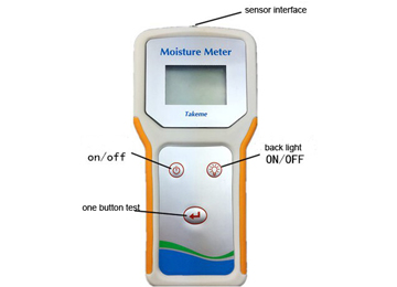 Soil Moisture Temperature Measuring Tester