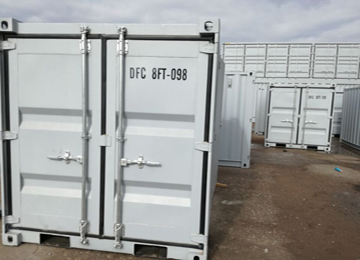 20 Foot 20' GP Insulated Shipping Container