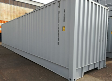 Commercial ISO  40 HQ Insulated Steel Logistic Cargo Container