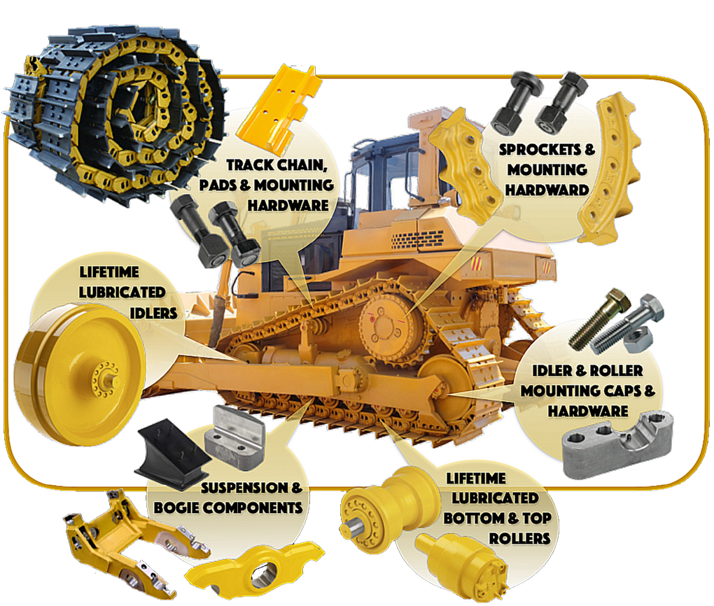 bulldozer undercarriage parts bulldozer undercarriage e66 idler arm diagram