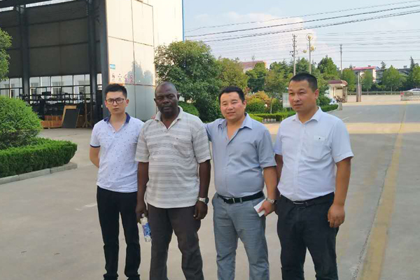 Warmly Welcome Cameroon Merchants to Visit China Coal Group for Drilling Equipment Procurement