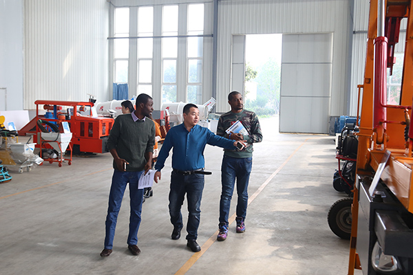 Warmly Welcome Congo Merchants From Canton Fair To China Coal Group For Purchasing Railway Equipment