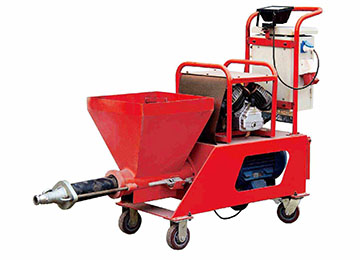 N2 Semi Automatic Putty Sprayer Machine