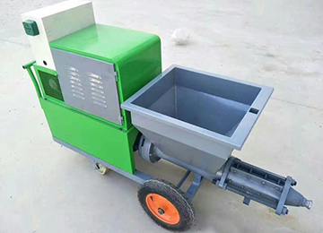 Wall Mortar Spray Plaster Machine