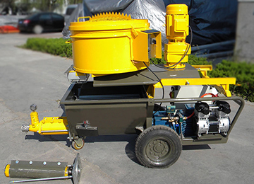 MPS55 Mortar Spraying Machine
