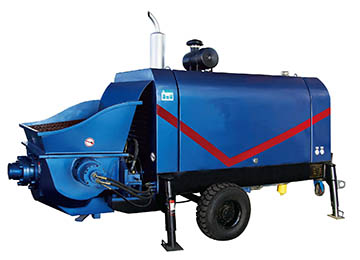 DXBS Diesel Engine Concrete Pump for Large Aggregates
