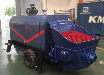 DHBT Diesel Engine Mini Concrete Pump