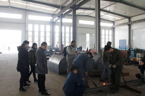 Warmly Welcome Pakistani Businessmen To China Coal Group for Steel Plate and Railway Equipment