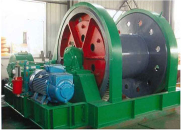 JZ-40/1300 Electric Mine Shaft Sinking Wire Winder