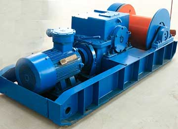 JH-14 Coal Mine Explosion-Proof Prop-Pulling Winch