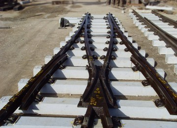 Railway Track Turnout Railroad Switch