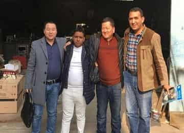 Warmly Welcome Algerian Merchants To Visit China Coal Group Joint Manufacturing Company For Procurement Equipment