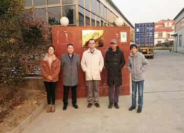 Malaysian Merchant Visit China Coal Group for Garden Crawler Dumper