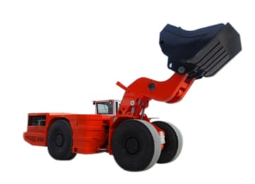 XYWJ-4 Mining Diesel Load Haul Dump Truck