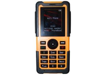Mine intrinsically safe mobile phone