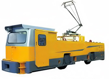 ZL20/9G Overhead Line Electric Trolley Locomotive