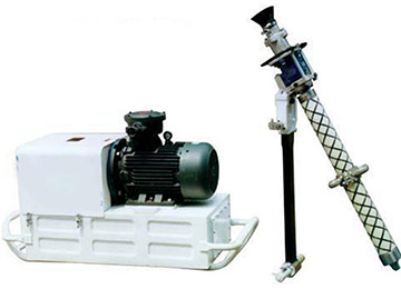 MQT120 Portable Pneumatic Roofbolter