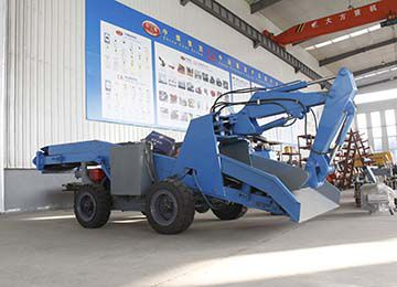 Tunnel Mucking Machine Wheel Mucking Loader