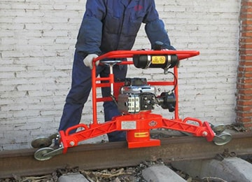 NGM-4.4 Railroad Maintenance Rail Profile Grinder