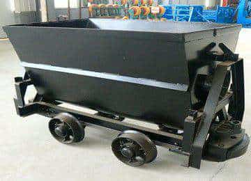 KFU0.75-6 Bucket Tipping Mine Car