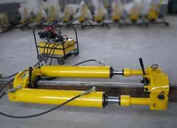 Rail Stretching Machine Hydraulic Rail Tensor